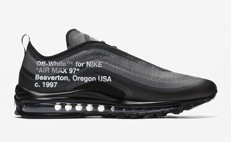 Off-White Nike Air Max 97 AJ4585-001 Negras Blancas