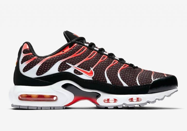 Nike Air Max Plus Negras/Grises/Blancas/Bright 852630-034