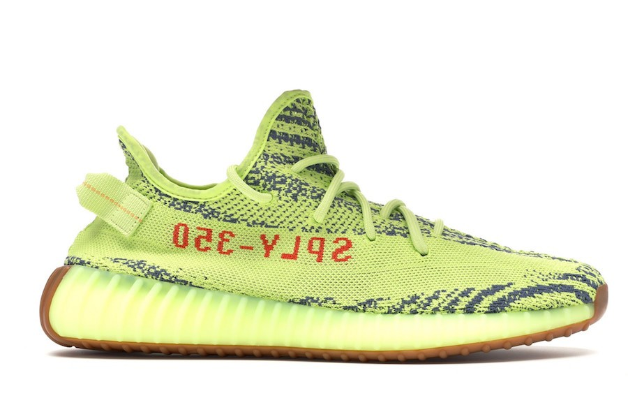 Yeezy Boost 350 V2 'Semi Frozen Yellow' - Adidas - B37572