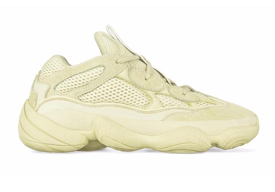 Adidas Yeezy 500 'Supermoon Yellow' DB2966