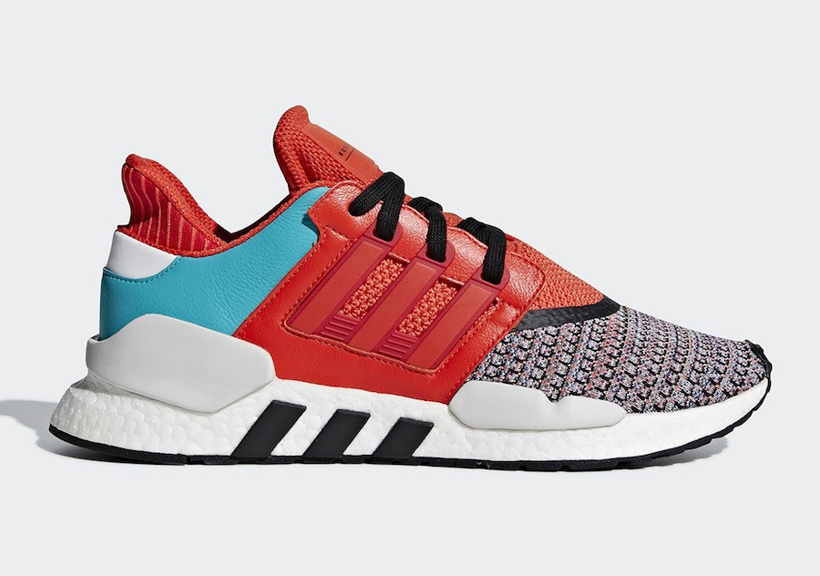Adidas EQT Support 91/18 Multicolor Naranjas D97049