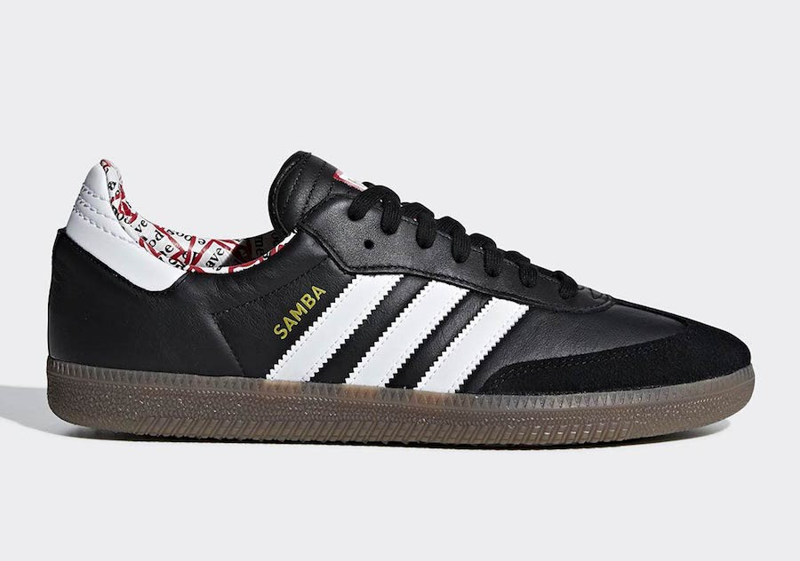 Have A Good Time x Samba 'Negras' - Adidas - BD7362