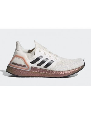 adidas Ultra Boost 2020 Sail/Copper Metálico-Negras EG0721