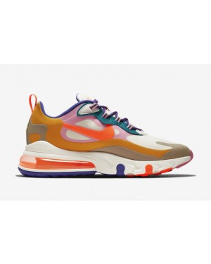 Nike Air Max 270 React Marrónes/Sail-Blancas CU3014-181