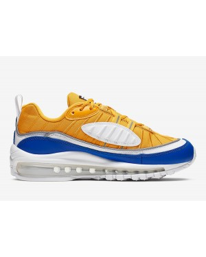 Nike Air Max 98 Amarillas Blancas Azules AT6640-700