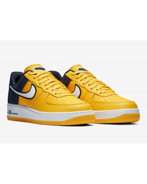 Nike Air Force 1 Amarillas Azules AO2439-700