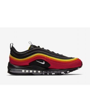 Nike CT4525-001 Air Max 97 Hombre Running Zapato Negras/Rojas
