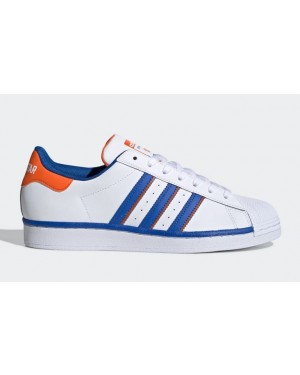 adidas Superstar Rivalry Blancas Azules Naranjas FV2807