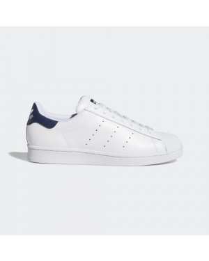 adidas Superstan Blancas Navy - FX3905