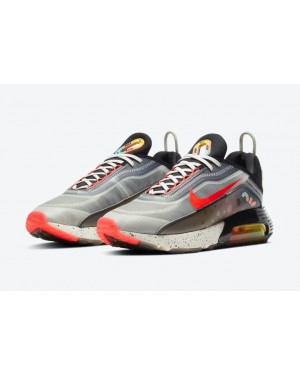 "Nike Air Max 2090 ""The Future is in the Air"" Blancas/Infrared/Negras-Multi-Color DD8497-160"