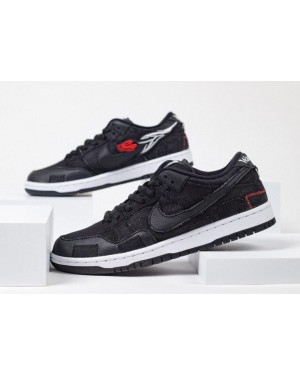 Wasted Youth x Nike SB Dunk Low Negras/Rojas-Blancas-Negras DD8386-001