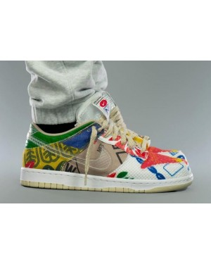 """Nike Dunk Low SP """"Thank You For Caring"""" Multi-Color/Multi-Color DA6125-900"""