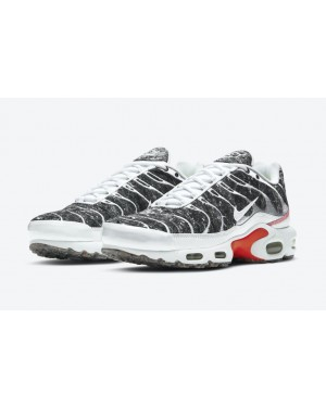 "Nike Air Max Plus Essential ""Crater"" Grises/Blancas/Rojas DA9326-100"