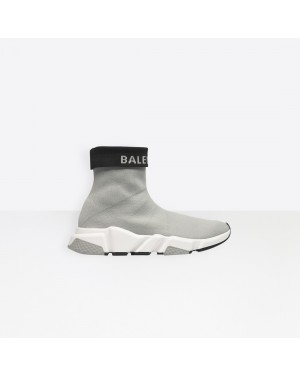 Balenciaga Mujer Speed Trainers with tricolor sole Grises 525725W1GV01264