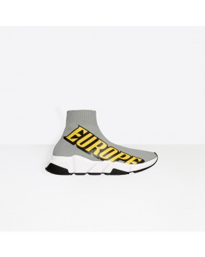 Balenciaga Mujer Speed Trainers Grises 517369W05G71293
