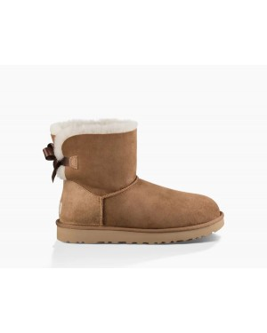 Mujer Mini Bailey Bow Ii Boot Marrónes 1016501