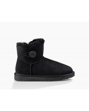 Mujer Mini Bailey Button Ii Boot Negras 1016422