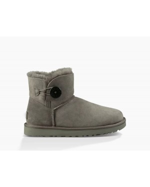 Mujer Mini Bailey Button Ii Boot Grises 1016422