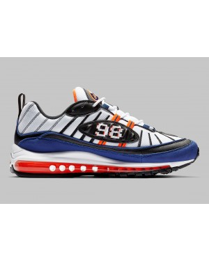 Nike Air Max 98 Blancas Azules CD1536-100