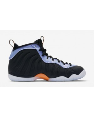 Nike Little Posite One Negras/Naranjas-Twilight Pulse-Blancas 644791-008