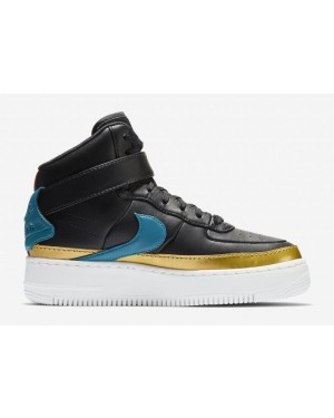 Mujer Air Force 1 Jester XX High 'Negras' - Nike - AR0625-001