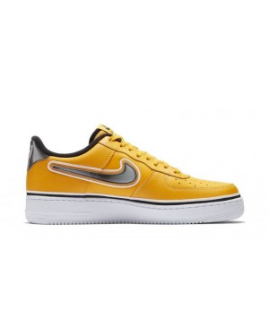 Nike BV1168-700 Air Force 1 Low Sport Hombre Estilo de vida Zapatillas Amarillas