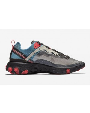 Nike React Element 87 Azules Rojas AQ1090-006