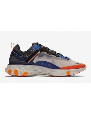 Nike React Element 87 Azules Naranjas AQ1090-004