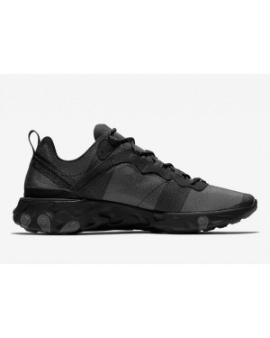Nike React Element 55 Negras | BQ6166-008