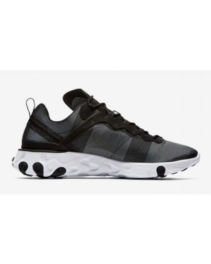 React Element 55 'Negras Blancas' - Nike - BQ6166-003