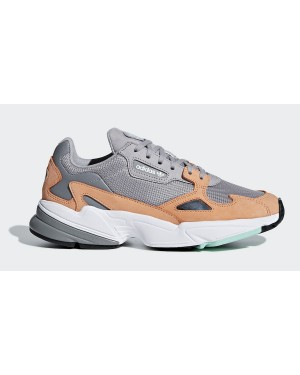 Adidas Falcon Grises Mujer | B28130